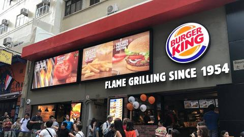 除夕免費派啤酒!Burger King指定分店推廣