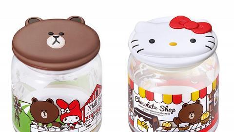 加推玻璃樽系列!7-Eleven Line Friends x Sanrio換購活動