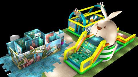 大人都啱玩!全港首個監獄兔室內障礙賽