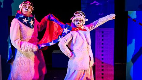國際綜藝合家歡2017工作坊:創意英倫孖寶 (英國)《我要飛高高》親子舞蹈互動工作坊