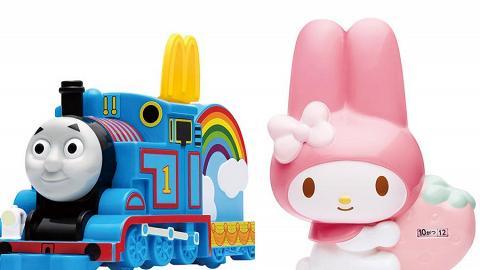 麥當勞限時換購 My Melody x Thomas & Friends 玩具精品