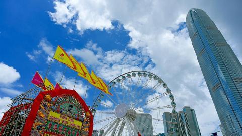 香港龍舟嘉年華 14架美食車列陣週末玩轉中環海濱