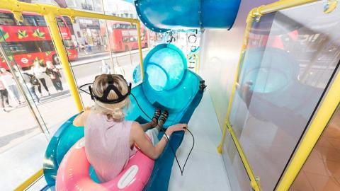 中環室內VR滑梯 期間限定免費任玩