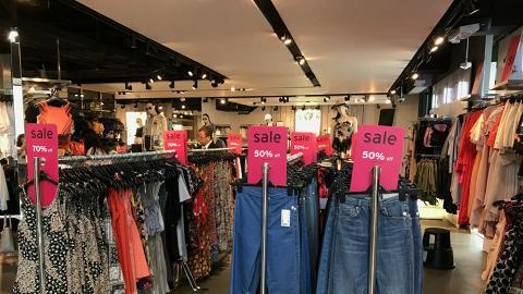 TOPSHOP春夏激減 過千款男女裝、鞋、配件3折起