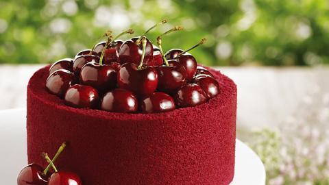 美心限定車厘子蛋糕 19粒爆滿車厘子山