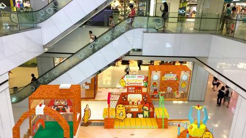 暑假限定!九龍灣全港首個卡樂B室內主題樂園