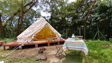 昂坪波希米亞風豪華懶人露營 限時優惠$150位