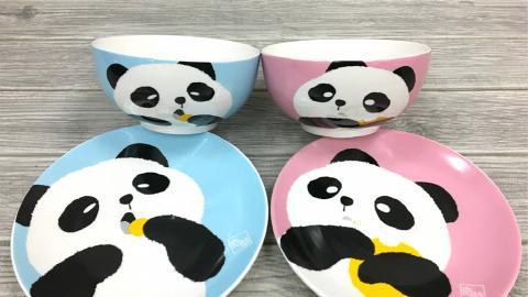 奇華餅家肥嘟嘟熊貓餐具套裝 限時優惠價換購!