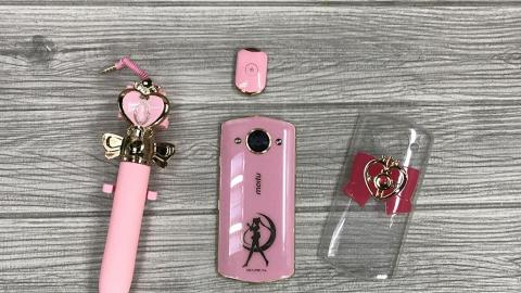 香港有售!美少女戰士限量版美圖手機 率先開箱試用