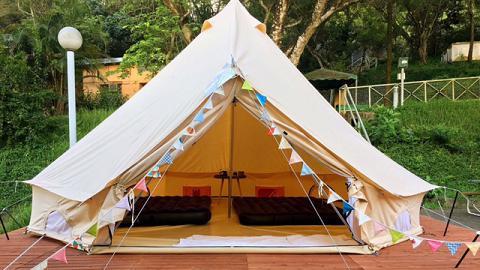 西貢懶人露營優惠!$450/3位包搭營、廚房浴室、上網
