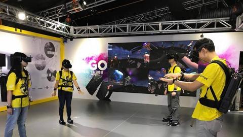 紅磡電競音樂節 $10入場任玩VR任打機