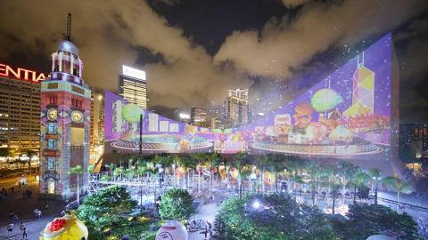 融入5大香港特色!尖沙咀全新泡泡/煙霧/光影匯演