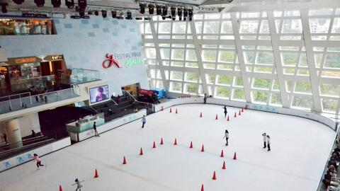 $10入場溜冰!「又一城歡天雪地」推限時溜冰優惠