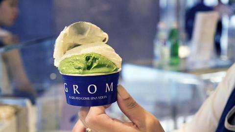 GROM免費派新出抹茶意大利雪糕 限時一日!