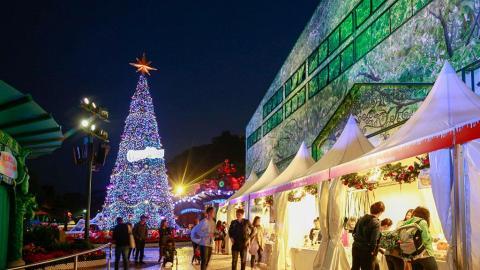 一連10晚指定區域免費入場!海洋公園市集+飄雪聖誕村
