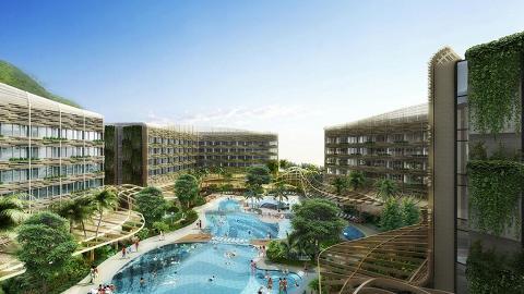 海洋公園酒店6月開幕!16米高圓柱形水族館/礁湖游泳池