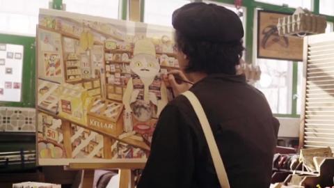 大坑免費睇插畫原稿展 7個本地插畫師玩draw three繪圖遊戲!