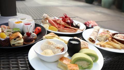 尖沙咀酒店下午茶自助餐 食勻多款沙巴榴槤主題甜品