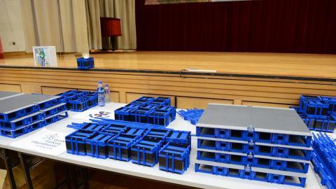 全球最長LEGO積木橋展覽下周登場!香港中學生用26萬塊積木砌成