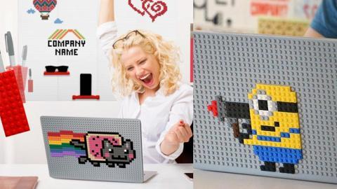BRIK Book LEGO電腦保護殼 積木任意砌出得意公仔!