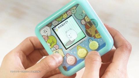 角落生物版「他媽哥池」?迷你遊戲機過百款造型+得意小遊戲