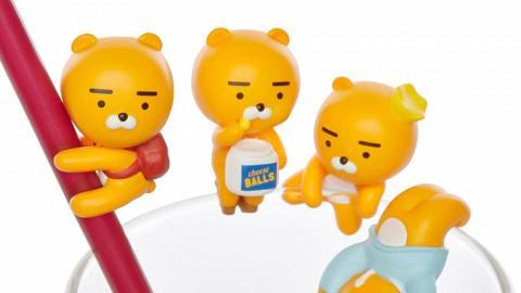 4款KAKAO Friends杯緣子新登場!搞鬼造型Ryan坐陪你飲水