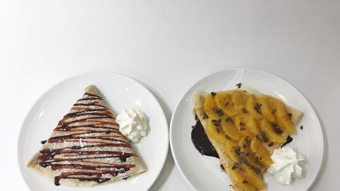 多倫多過江龍crepe店殺入旺角 主打特色鹹甜法式香餅