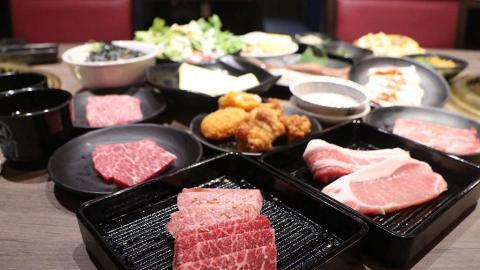 【旺角美食】牛角燒肉放題店率先試 任食玉名黑牛/M9和牛/廣島蠔