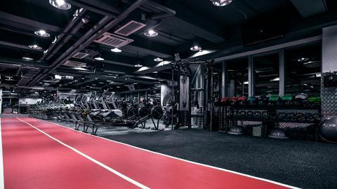 【荃灣好去處】荃灣萬三呎24小時健身中心!免簽約按月收費任用設施