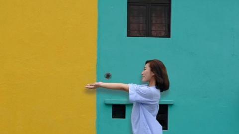 【澳門好去處】澳門新人氣景點彩虹屋 色彩繽紛彩虹牆+2大影相位