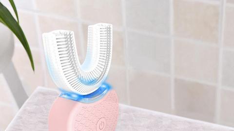 免手持自動牙刷 趕時間恩物!美白牙齒10秒/刷牙45秒