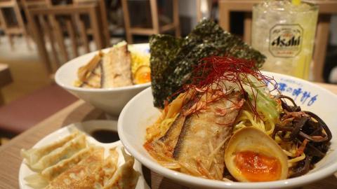【旺角美食】6大食店進駐T.O.P商場 過江龍拉麵/泰菜/大力水手炸雞