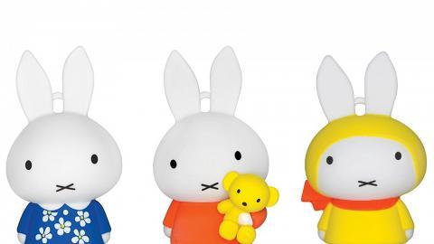 Miffy 3D八達通配飾6月開售!率先睇三款經典造型