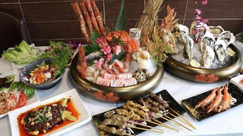 【銅鑼灣美食】新開日、泰式放題店 任食生蠔/海膽/魚露燒蝦