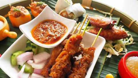 【尖沙咀美食】$104新加坡主題酒店下午茶 歎榴槤雪米糍/咖央多士/黃金魚皮