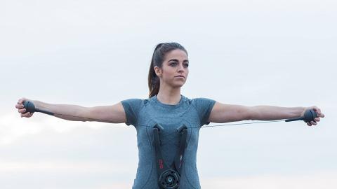 2磅重摺疊式健身器 9種鍛練方法/可訓練全身