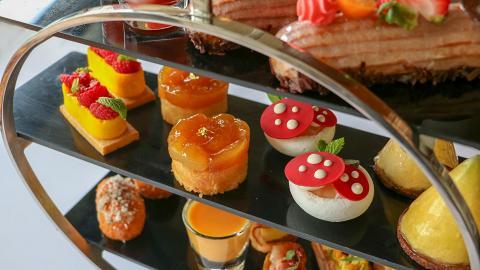 【數碼港美食】五星級酒店下午茶 2小時歎熱帶鮮果鹹甜點