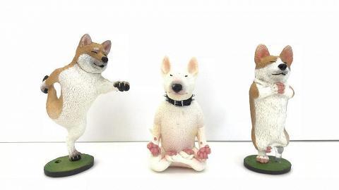 6款「扮工瑜珈狗」登陸Log-on!完美演繹打工仔心聲