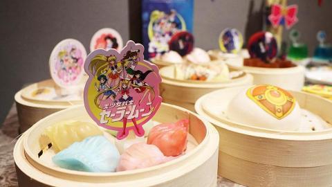 【尖沙咀美食】点心代表聯乘美少女戰士推點心系列 免費送6款扇+杯墊