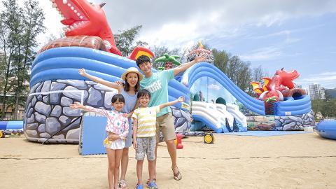 放電必到!愉景灣大白灣沙灘五大驚喜迎暑假