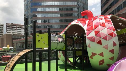 【葵芳好去處】葵芳逾萬呎歷奇公園開幕!3.5米超高滑梯/鞦韆/繩網陣