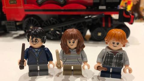 哈利波特LEGO全新系列開賣!經典場景霍格華茲/9¾月台重現