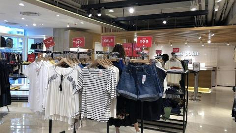 【減價優惠】Collect Point全線分店低至3折!一字膊/上衣/牛仔裙/外套$99起
