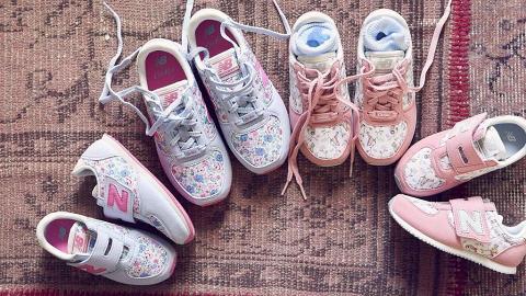 New Balance首次聯乘Cath Kidston!限定推出碎花圖案設計運動鞋