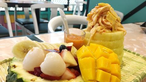 【沙田美食】新式泰國菜進駐 食勻軟殼蟹米紙卷/原個菠蘿手撕雞沙律