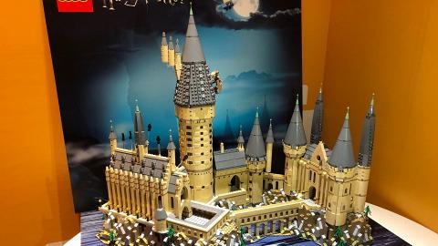 LEGO哈利波特新品率先睇!6020粒LEGO重現霍格華茲城堡經典場景