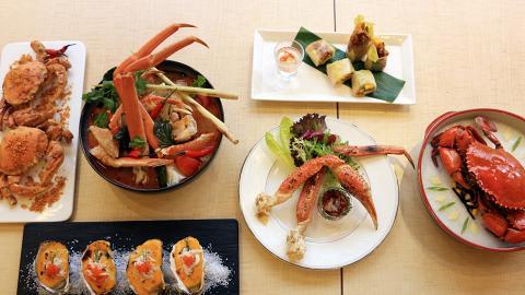 【油麻地美食】城景國際酒店十式蟹宴海鮮自助餐 4人同行1人免費