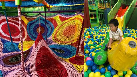 【大埔好去處】大埔全新7000呎冒險樂園!巨型迷宮/波波池/跳床/繩網