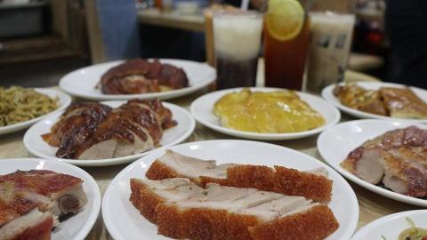 【深水埗美食】茶餐廳推下午茶放題 $68任食燒肉/叉燒/油雞/燒鴨/燒排骨