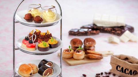 【沙田美食】沙田萬怡酒店x Michel Cluizel甜品下午茶 試勻各款朱古力鹹甜點
